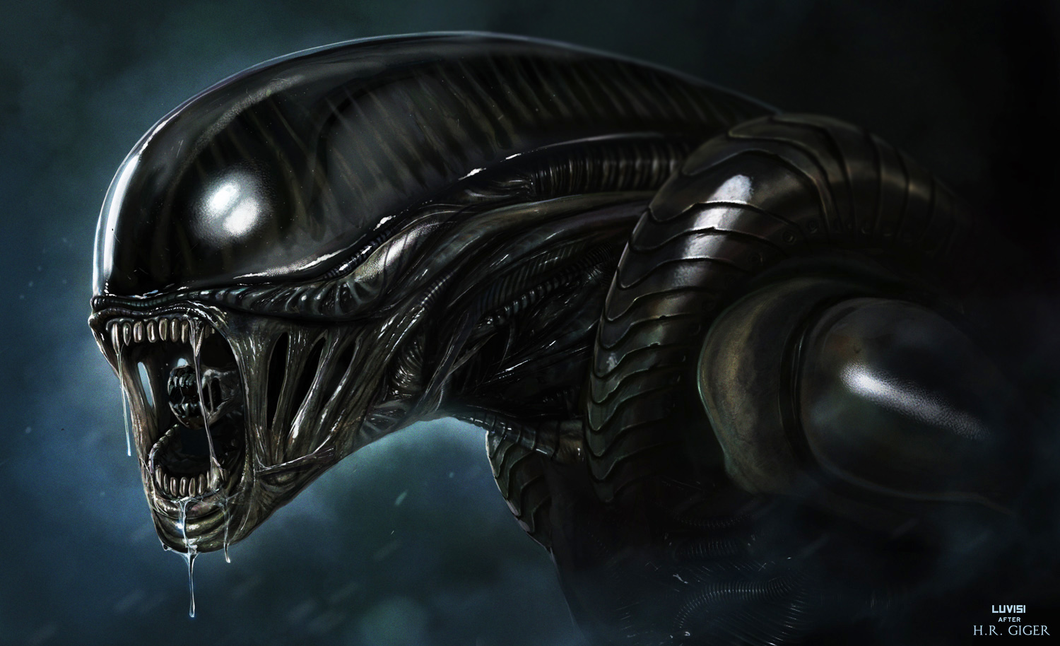 V.48 Alien, High Resolution Wallpaper