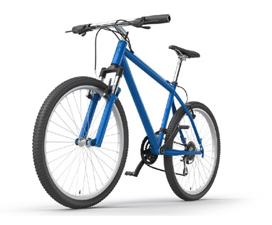 Fresh Bicycle for Laptop