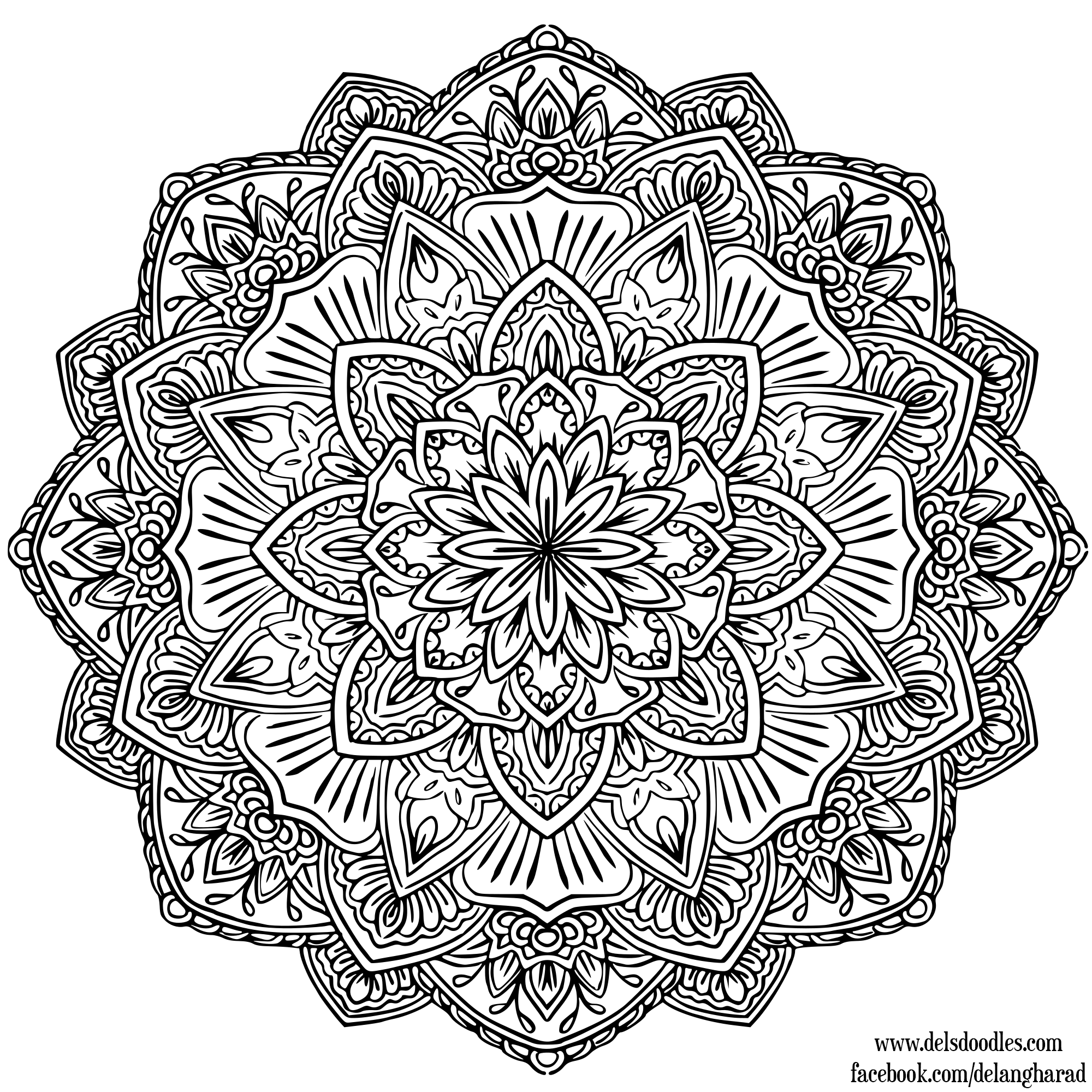 The meaning and symbolism of the word mandala - Mandala colorier ...