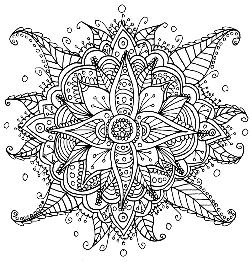 The meaning and symbolism of the word mandala - Mandala beau et difficile ...