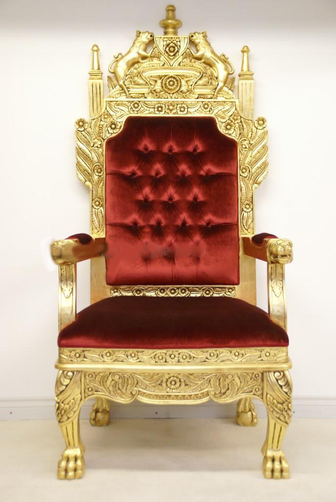 V.77 Throne, High Resolution Photo